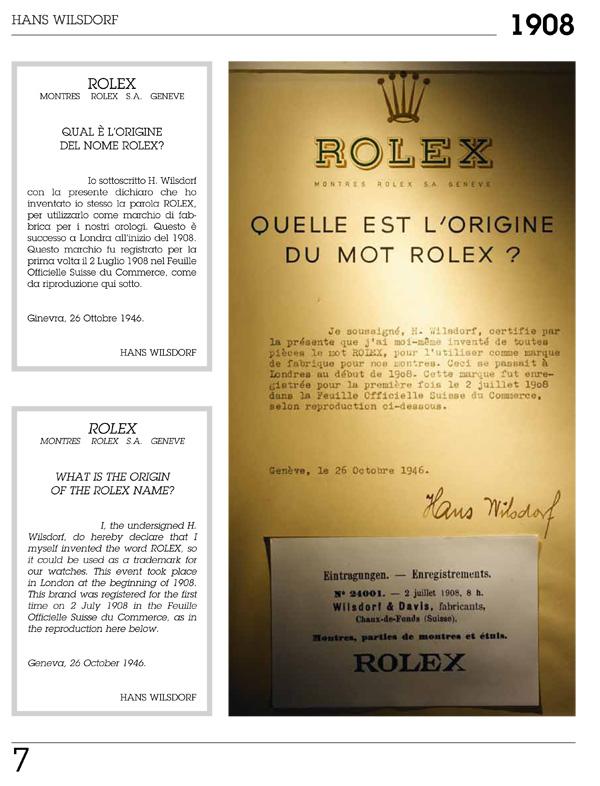 ROLEX ENCYCLOPEDIA