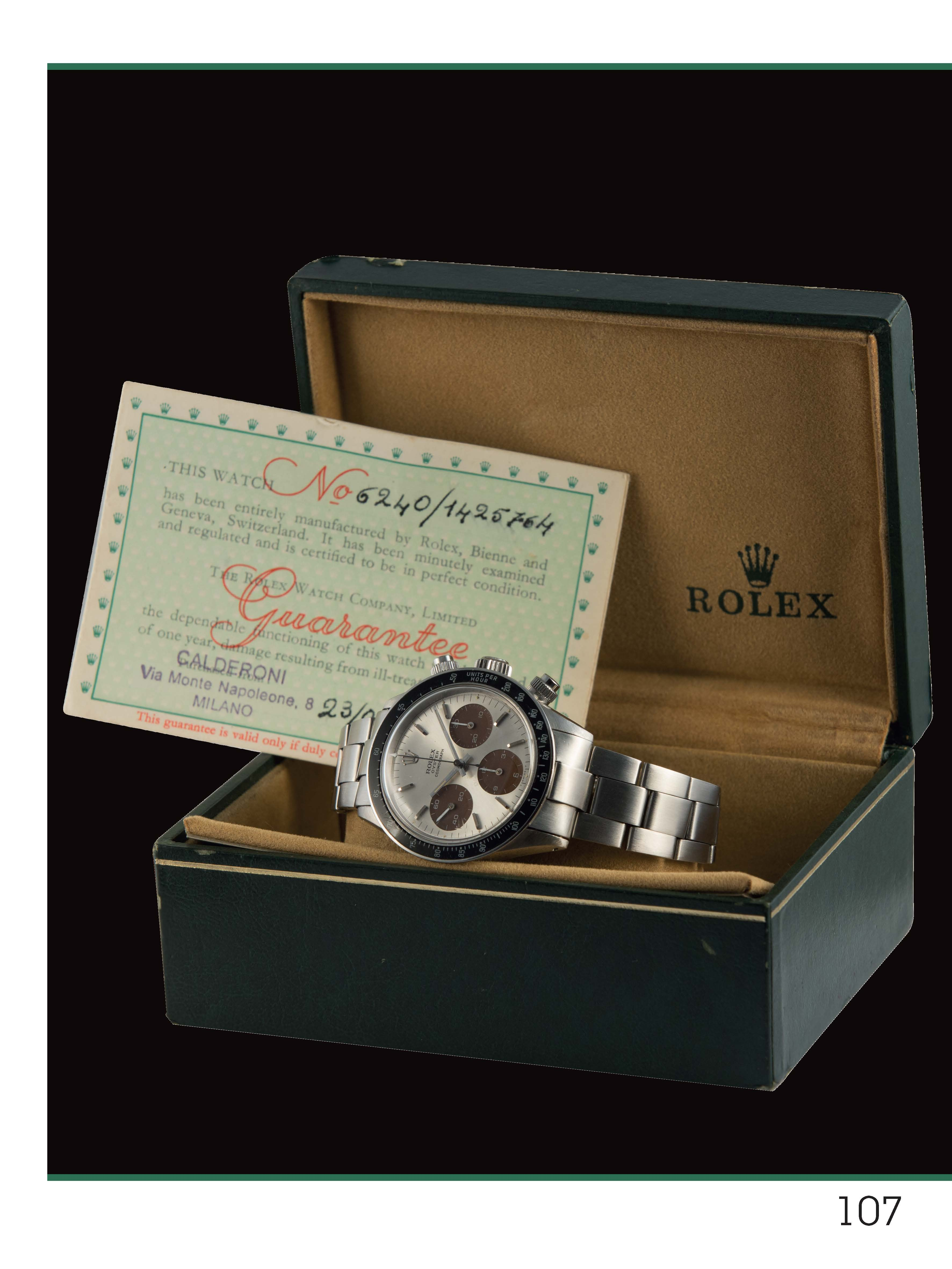 Rolex Daytona manual winding
